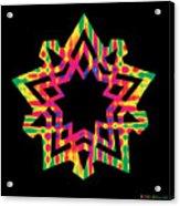 New Star 5 Acrylic Print