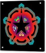 New Star 6 Acrylic Print by Eric Edelman