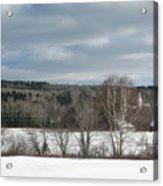 New Sweden Maine Acrylic Print