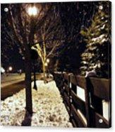 New Winter Snow Acrylic Print