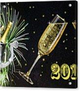 New Year 2018 Acrylic Print