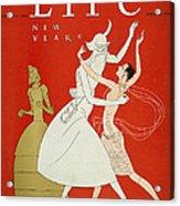 New Year: Magazine Cover Acrylic Print