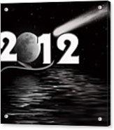 New Year Reflection Acrylic Print