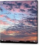 New Year Sunrise One Acrylic Print