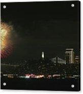 New Year Acrylic Print