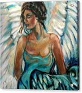 New Year's Angel Acrylic Print
