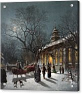 New Years Eve, C1876 Acrylic Print by Granger