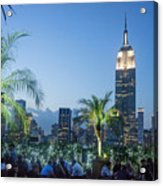 New York 230 Fith Rooftop Bar  Acrylic Print