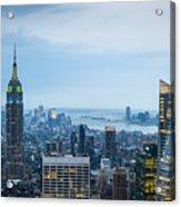New York Blues Acrylic Print