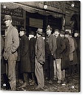 New York: Bread Line, 1907 Acrylic Print