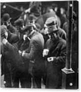 New York: Bread Line, 1915 Acrylic Print