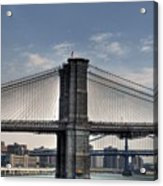 New York Bridges Acrylic Print