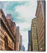 New York Buildings Acrylic Print