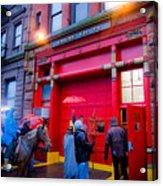 New York Christmas Acrylic Print