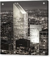 New York Citigroup Center  Acrylic Print