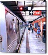 New York City Broadway Subway Station Acrylic Print