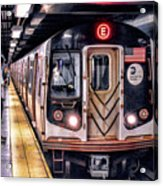New York City Charles Street Subway Station Acrylic Print