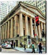 New York City Federal Hall Acrylic Print