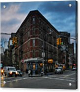 New York City - Greenwich Village 011 Acrylic Print by Lance Vaughn