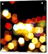 New York City Lights - My View Acrylic Print
