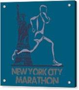 New York City Marathon3 Acrylic Print