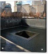New York City National September 11 Memorial Acrylic Print