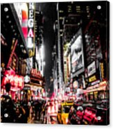 New York City Night II Acrylic Print