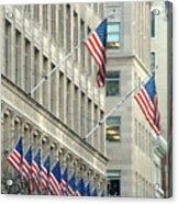 New York City Patriotism Acrylic Print