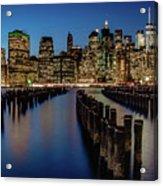 New York City - Skyline Acrylic Print