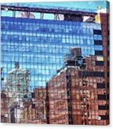 New York City Skyscraper Art 4 Acrylic Print
