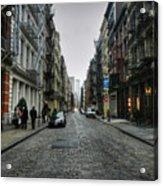 New York City - Soho 003 Acrylic Print