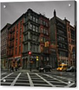 New York City - Soho 006 Acrylic Print