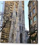 New York City St. Patrick's Cathedral Acrylic Print