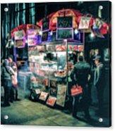 New York City Street Vendor Acrylic Print