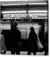New York City Subway Acrylic Print