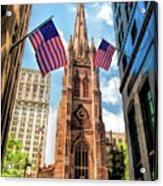 New York City Trinity Church Acrylic Print