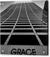 New York City - W. R. Grace Building Acrylic Print