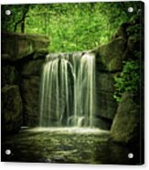 New York City Waterfall Acrylic Print