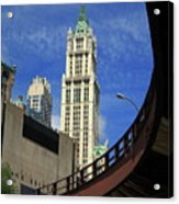 New York City - Woolworth Building Acrylic Print