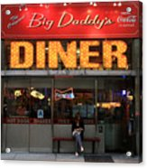 New York Diner 1 Acrylic Print