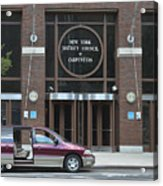 New York District Council Of Carpenters Acrylic Print