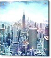 New York Fairytales Acrylic Print