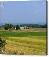 New York Farmland Acrylic Print