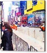 New York Flavor Acrylic Print