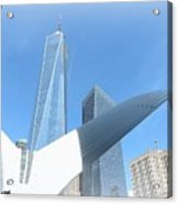 New York Freedom Acrylic Print