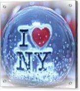 New York Greetings  Acrylic Print