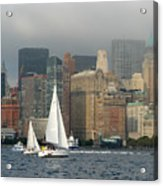 New York Harbor Acrylic Print