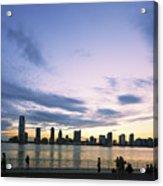 New York Hudson River Acrylic Print