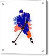 New York Islanders Player Shirt Acrylic Print