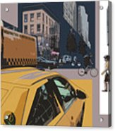 New York Jazz I Acrylic Print